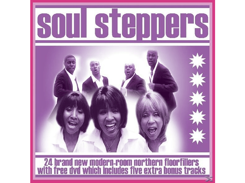 VARIOUS - Soul Steppers [CD]