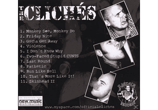 The Cliches - Monkey See, Monkey Do  - (CD)
