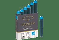 PARKER Quink Mini Tintenpatrone Türkis