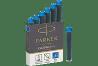 PARKER 1950409 Tintenpatrone Blau