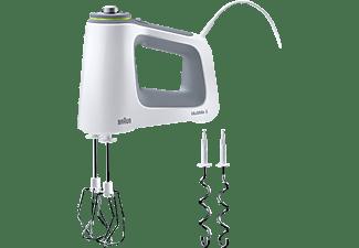 BRAUN HM 5100 MultiMix 5 Handmixer Weiß/Grau (750 Watt)