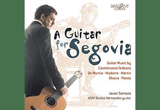 Javier Somoza - A Guitar For Segovia  - (CD)