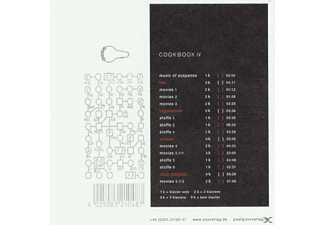 Cookbook - Pianos & Motions/Cookbook IV  - (CD)