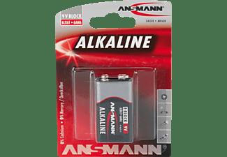 ANSMANN 6LF22 E-Block (9V) Batterie, Alkaline, 9 Volt 1 Stück