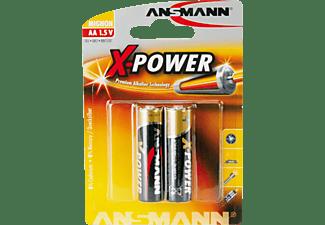 ANSMANN LR6 AA (Mignon) Batterie, Alkaline, 1.5 Volt 2 Stück