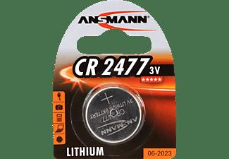 ANSMANN CR2477 CR2477 Knopfzelle, Lithium, 3 Volt 1 Stück