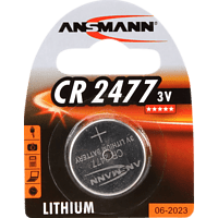 ANSMANN CR2477 Knopfzelle, Silber