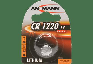 ANSMANN CR1220 CR1220 Knopfzelle, Lithium, 3 Volt 1 Stück