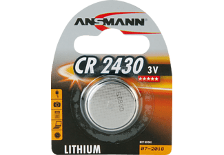 ANSMANN CR2430 CR2430 Knopfzelle, Lithium, 3 Volt 1 Stück