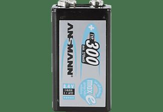 ANSMANN maxE 6F22 E-Block (8.4V) Akku, NimH, 8.4 Volt, 300 mAh 1 Stück