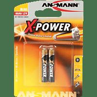 ANSMANN X-Power AAAA Batterie Alkaline 2 Stück