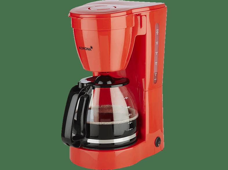 KORONA 10117 Kaffeemaschine Rot