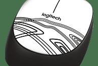 LOGITECH M105 Maus, Weiß