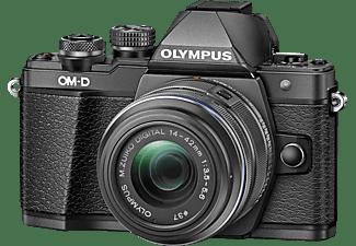 OLYMPUS OM-D E-M10 Mark II  Systemkamera mit Objektiv 14-42 mm f/3.5-5.6, 7,6 cm Display Touchscreen, WLAN