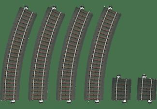 MÄRKLIN Gleis-Set mit 6 gebogenen Gleisen Gleismaterial, Mehrfarbig