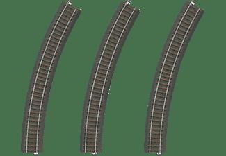 MÄRKLIN Gleis-Set mit 3 gebogenen Gleisen Gleismaterial, Mehrfarbig