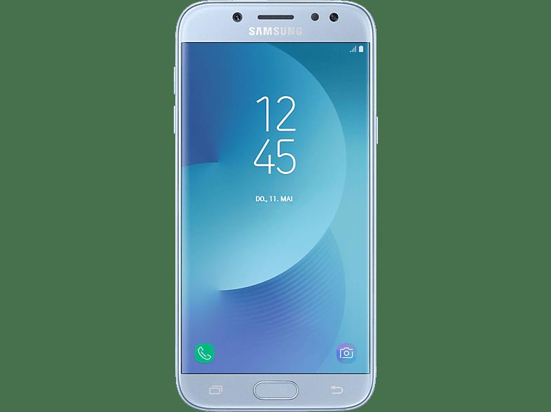 Samsung Galaxy J5 2017 Duos 16 Gb Blue Dual Sim 16 Smartphone Mediamarkt