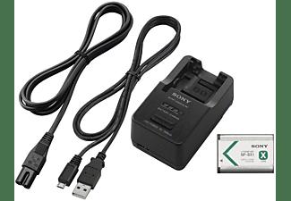 SONY Zubehör Kit: Akku NP-BX1 und Multi-Reiseladegerät BC-TRX