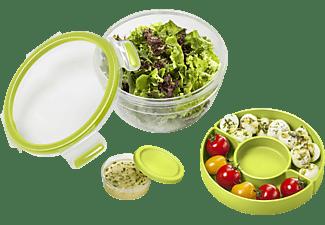 EMSA 518097 Clip & Go Salatbox Transparent/Grün