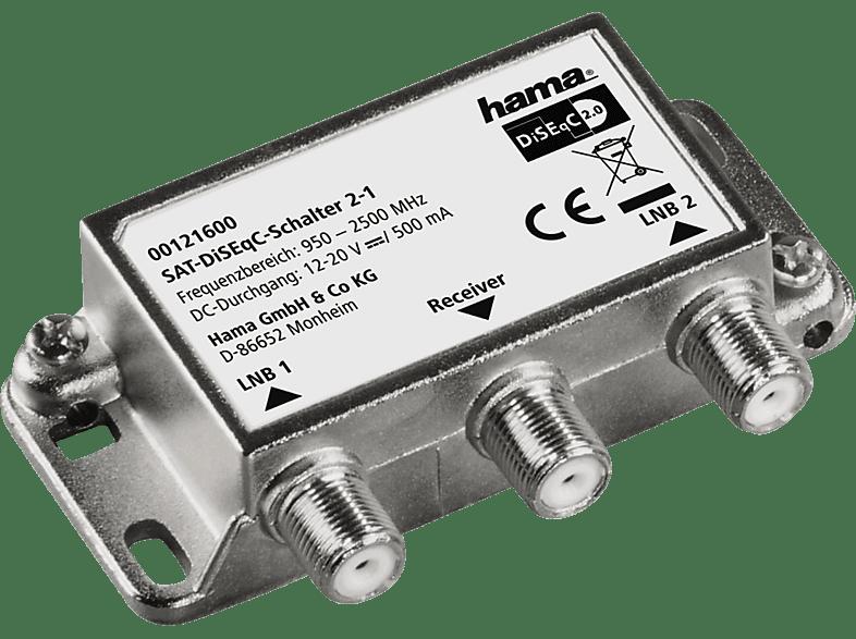 HAMA 2-1  SAT-DiSEqC-Schalter