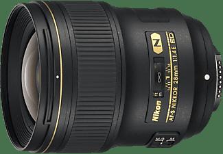 NIKON JAA140DA  E - 28 mm f/1.4 ED, AF-S (Objektiv für Nikon F-Mount, Schwarz)