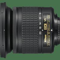 NIKON JAA832DA G 10 mm-20 mm f/4.5-5.6 AF-P, DX, VR (Objektiv für Nikon F-Mount, Schwarz)