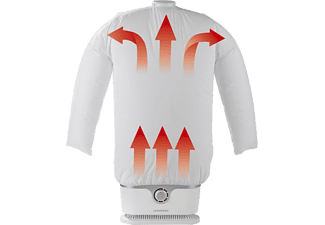 CLEANMAXX Bügelautomat für Hemden und Blusen in weiß und silber (0384)