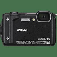 NIKON Coolpix W300 Digitalkamera Schwarz, 16 Megapixel, 5x opt. Zoom, TFT-LCD, WLAN