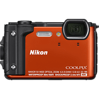 NIKON Coolpix W300 Digitalkamera Orange, 16 Megapixel, TFT-LCD, WLAN