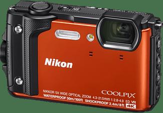NIKON Coolpix W300 Digitalkamera Orange, TFT-LCD, WLAN