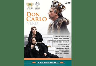 José Bros, Vladimir Stoyanov, Ievgen Orlov, Simon Lim, VARIOUS, Pertusi Michele - Don Carlo  - (DVD)