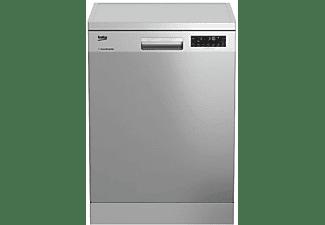 Lavavajillas - Beko DFN28430X, Capacidad 14 servicios, Aquaflex, 8 programas,  Inox