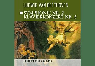 The Philharmonia Orchestra - Sinfonie 2, Klavierkonzert 5  - (CD)