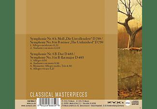 The Philharmonia Orchestra - Sinfonien 5 & 8 - Die Unvollendete  - (CD)