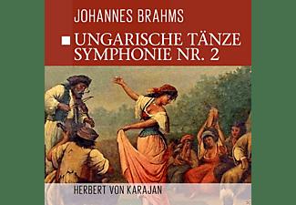 The Philharmonia Orchestra - Ungarische Tänze, Sinfonie 2  - (CD)