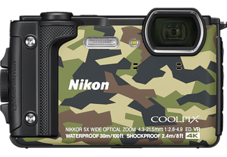 NIKON Coolpix W300 Digitalkamera Camouflage, TFT-LCD, WLAN