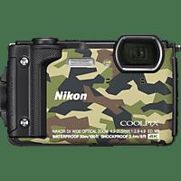 NIKON Coolpix W300 Digitalkamera Camouflage, 16 Megapixel, TFT-LCD, WLAN