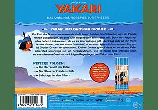 Yakari - (28)HSP z.TV-Serie-Yakari Und Großer Grauer  - (CD)