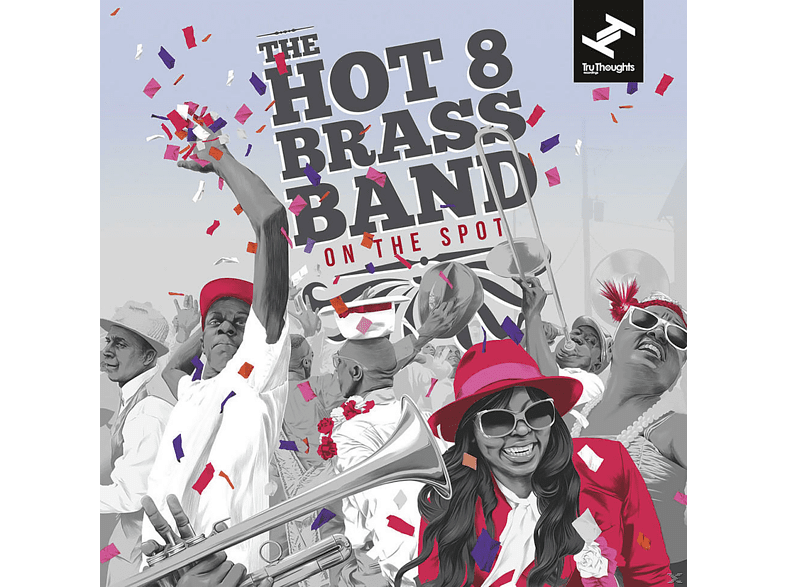 The Hot 8 Brass Band - On The Spot (2LP+MP3) [LP + Download]