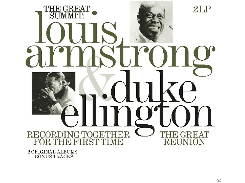 Louis Armstrong, Duke Ellington - Recording Together For The First Time [Vinyl]