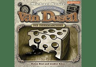 Professor Van Dusen - Folge 14-Rotes Blut und weißer Käse  - (CD)