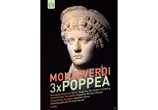 VARIOUS - Poppea  - (DVD)