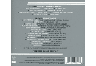 Bad Company - Run With The Pack  - (CD)