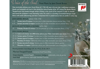 Marion Treupel-Franck, Sergio Azzolini, Francesco Galligioni, Axel Wolf - Voice of the Soul-Flute Music by Jean Daniel Braun  - (CD)