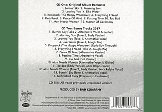 Bad Company - Burnin' Sky  - (CD)