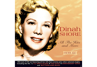 Dinah Shore - All The Hits And More 1939-60  - (CD)