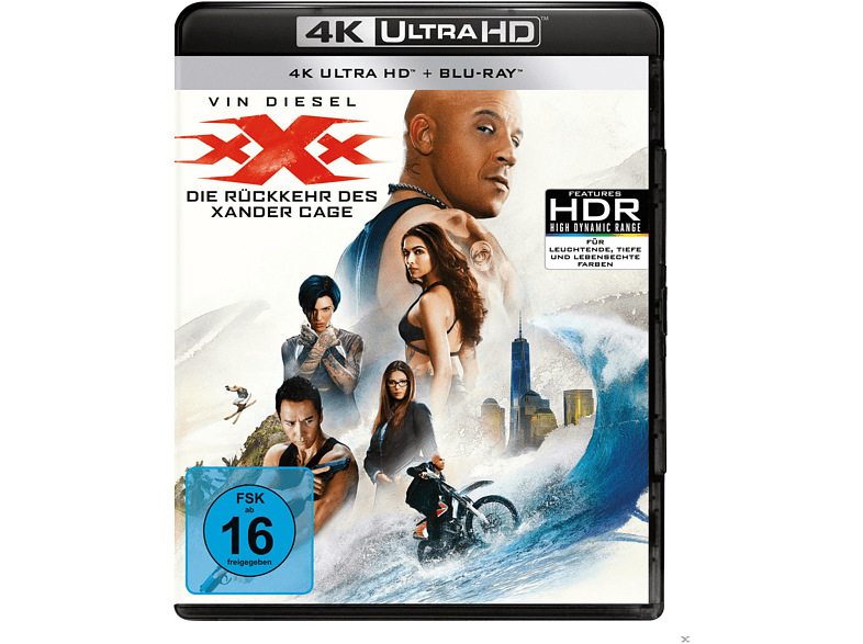 xXx - Die Rückkehr des Xander Cage [4K Ultra HD Blu-ray + Blu-ray]