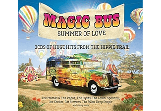 VARIOUS - Magic Bus - Summer of Love  - (CD)