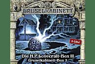 Gruselkabinett-box 5 - BERGE DES WAHNSINNS/DIE FARBE AUS DEM ALL 5.BOX - (CD)