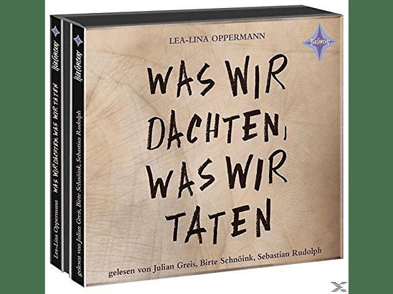 Lea-lina Oppermann - Was wir dachten,was wir taten - (CD)